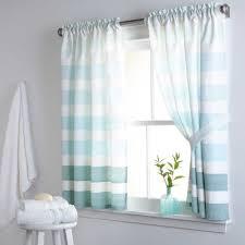 great blue kitchen curtains