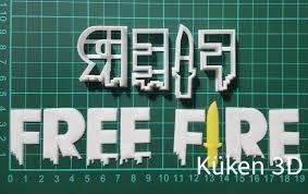 El evento llama a la tropa de free fire ya se encuentra aquí, justo para otorgar a los jugadores que traigan de…. Cortante Logo Free Fire Letras 4cm Juego