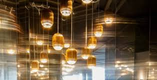 the right cafe lighting will help set the mood cafe lighting design