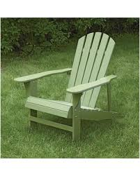 painted wood patio furniture. Classic Painted Wood Adirondack Chair - Sage (Green) Patio Furniture