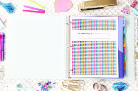 Student Daily Planner With Subjects Student Binder For Back To School With Free Printables