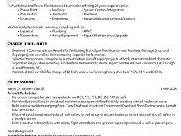 breakupus splendid resume objective examples for entry level breakupus fair example of an aircraft technicians resume beauteous do resumes need references besides resume