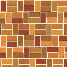 Brick Designs for Patios and Pathways Half-basket brick pattern.  Illustration by Thom Taylor