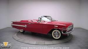 132393 / 1960 Chevrolet impala Convertible - YouTube