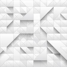 White Triangle Geometric Seamless Pattern Background 3d Design With