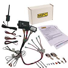 amazon com mpc remote start & keyless entry kit fits select command start 2400 wiring diagram at Command Start Wiring Diagram