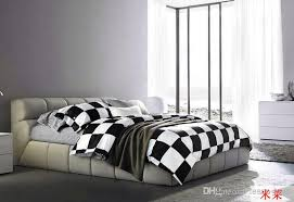 white black checkerboard comforter covers bedding set duvet cover bed sheet bedclothes cotton home textile comforter duvet cover comforters and duvet covers