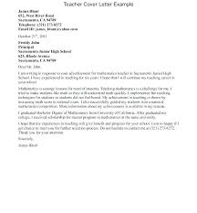 Example Of Education Cover Letters Cover Letter Examples For Education Special Education