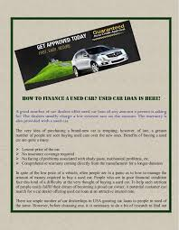 Steps to Get the Best Deal on a Used Car Auto Sites Catalog