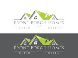 Front Logo Design Home Builder Logo Design For Front Porch Homes Llc By Saad