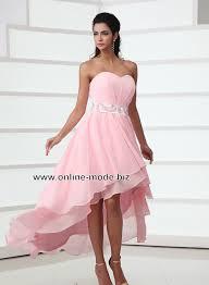 Rosa Vokuhila Abendkleid von www.online-mode.biz | vokuhila outfit ...