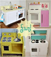 Homemade Play Kitchen Homemade Play Kitchen Ideas