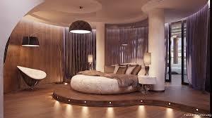 Futuristische Schlafzimmer Rundes Bett Spava E Sobe Sleeping