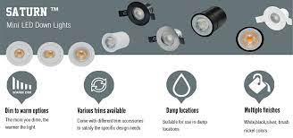 mini led downlights low profile
