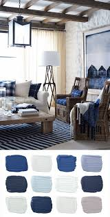 Navy Blue Living Room Mesmerizing A Ralph Lauren Paint Palette Inspired By The Rich Indigos And Warm