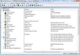 hardware information. get detailed system information for windows with portable freeware \u0027siw\u0027 [featured] hardware i