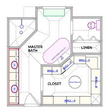 Master Bathroom Layouts With Closet Design Ideas Floor Plans Small Master Bathroom Floor Plans