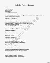 Qa Tester Resume Sample Qa Software Tester Entry Level Resume Examples Templates Sample 26