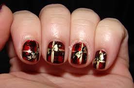 Nail Art Christmas Designs 10 Nail Art Tutorials Easy Christmas ...