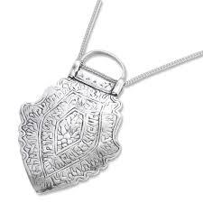 sterling silver childbirth pendant replica persia 18th 19th century
