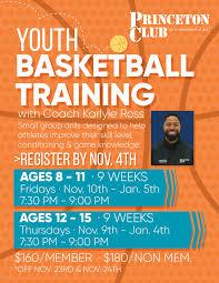 Training Flyer Youth Basketball Training Flyer Princeton Club New Berlin