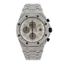 York New Diamonds Audemars F81791 Steel And Stainless Piguet - Royal Oak Offshore Watches Jewelers