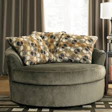 swivel accent chair. Awesome Round Swivel Accent Chair Kirkwood Charcoal Oversized Signature Design