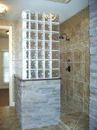 glass block shower projects glass blocks for bathroom walls glass block shower shower glass block shower