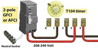 wiring diagram 2 pole gfci breaker wiring image how to install and troubleshoot gfci on wiring diagram 2 pole gfci breaker