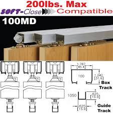 100md multi pass sliding door hardware