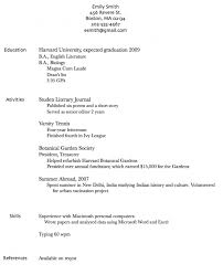 show me a resumeshow me resumes samples show me an example of a resume resume about me examples