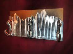 Carabiner Coat Rack Just finished the coat rack Repurposed slate and carabiners home 18