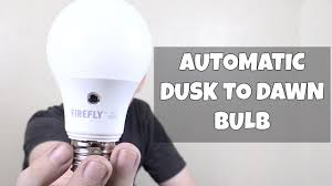 dusk to dawn led bulb from firefly