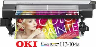 <b>OkiData ColorPainter H3</b>-<b>104S</b> Superwide (<b>8</b>) Color Printer with SX ...