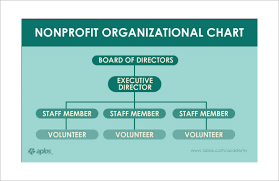 Non Profit Structure Flow Chart Sample Non Profit Organizational Chart 6 Documents In Word