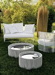 tibidabo coffee table woven outdoor coffee table with round glass top