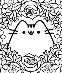 Kawaii Coloring Pages Best For Kids Free Printable Pusheen The Cat