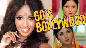 60s bollywood makeup hair