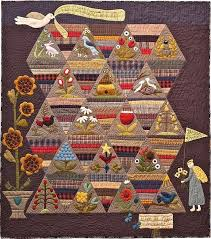 73 best Quilt Patterns images on Pinterest | Sconces, Bedding and Book & Primitive Folk Art Quilt Pattern How Does by FiddlestixDesign, $28.00 Adamdwight.com
