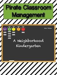 Kindergarten Classroom Behavior Chart Pirate Classroom Management And Behavior Chart