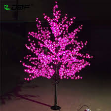 Cherry Blossom Christmas Lights Us 253 82 51 Off Luxury Handmade Artificial Led Cherry Blossom Tree Night Light Christmas New Year Wedding Decoration Lights 1 8m Tree Light Led In