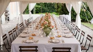 Rectangle Tables Wedding Reception Setting The Table Will A Rectangular Table Suit Your Wedding