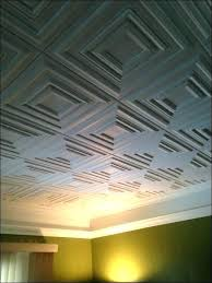 decorative suspended ceiling tiles image of black drop ceiling