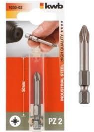 <b>Бита</b> 1/4 <b>50 мм PZ 1 kwb</b> 1030-01, 1030-01: характеристики ...