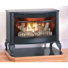 natural gas vent free wall mount fireplace oakwood 24 in logs