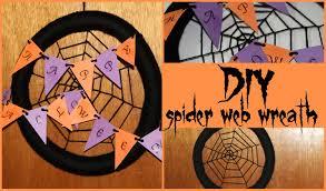 How To Make A Spider Web Dream Catcher DIY Spider Web Wreath ♡ TEDIYHalloween ♡ Jessica Joaquin 72