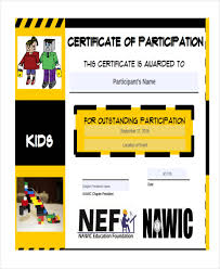 Kids Award Certificate 33 Award Certificate Examples And Samples Word Psd Ai Eps