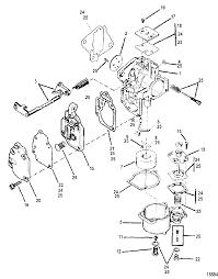 Mercury mariner 8 9 9 13 5 15 2 stroke carburetor