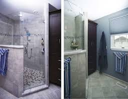 master bathroom remodels before and after.  Remodels AndSignaturetileShowerAfterLB MasterBathBeforeDL Throughout Master Bathroom Remodels Before And After E