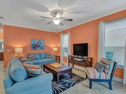 Comfortable seating & large flat-screen TV